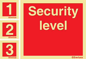 Isps Code Security Level Signs Product Range Everlux